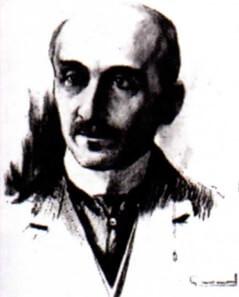 Retrato de Bergson.
