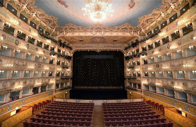 Teatro de Veneza.