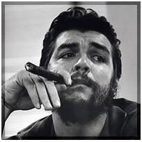 Retrato de Che Guevara.