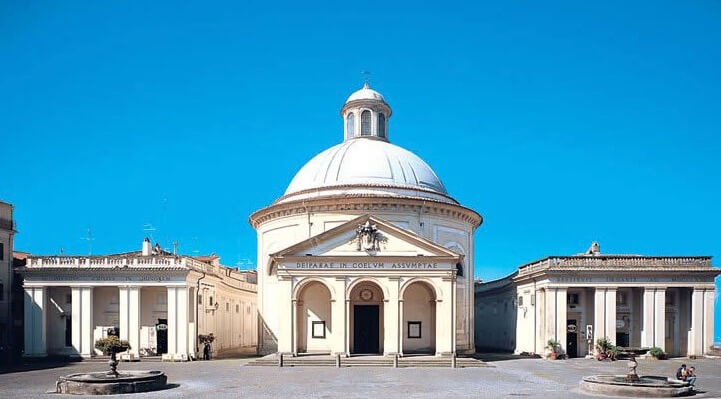 Exemplo da arquitetura barroca.