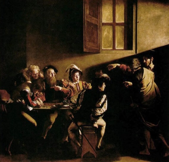 Exemplo de pintura barroca.
