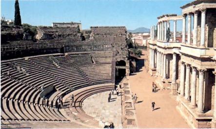 Teatro da Roma Antiga.