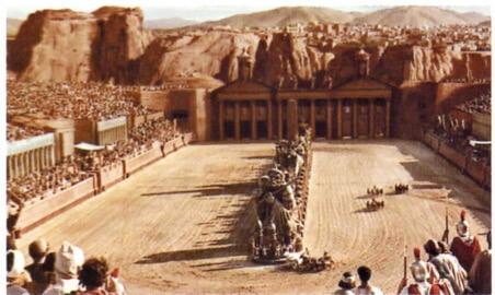 Circo da Roma Antiga.