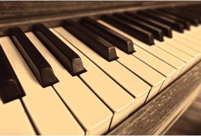 Teclas de um piano.