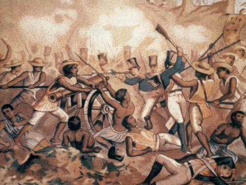 Batalha de independência do México.