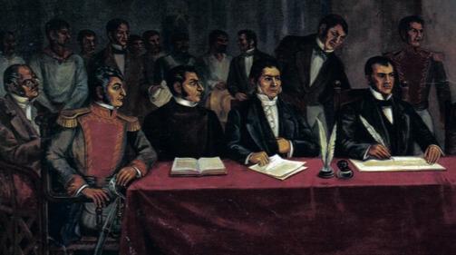 Reunião pela independência do México