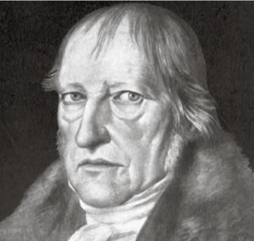 Retrato de Hegel.