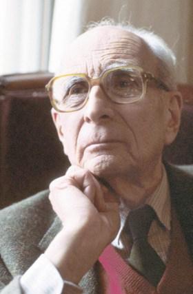 Retrato de Lévi-Strauss.