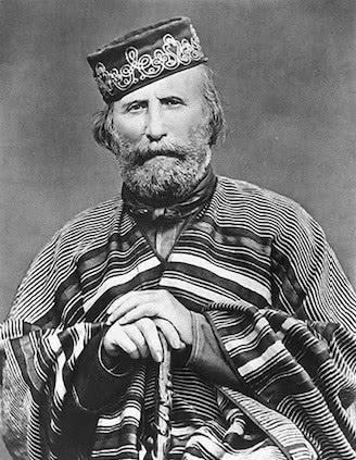 Retrato de Garibaldi.