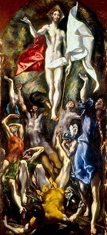 Quadro ressurreição de El Greco