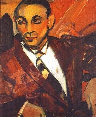 O Homem Amarelo, obra de Anita Malfatti
