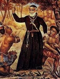 Quadro onde Antônio Vieira catequiza os índios