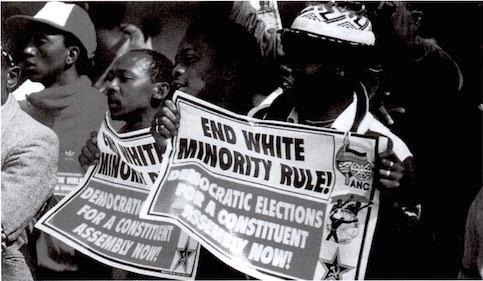 Movimento social negro durante o Apartheid
