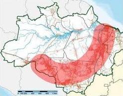 Arco do desflorestamento da Amazônia