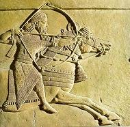 Escultura de Assurbanipal