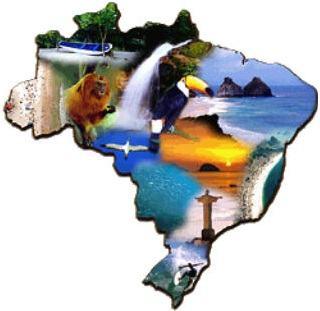 Contrastes naturais do Brasil