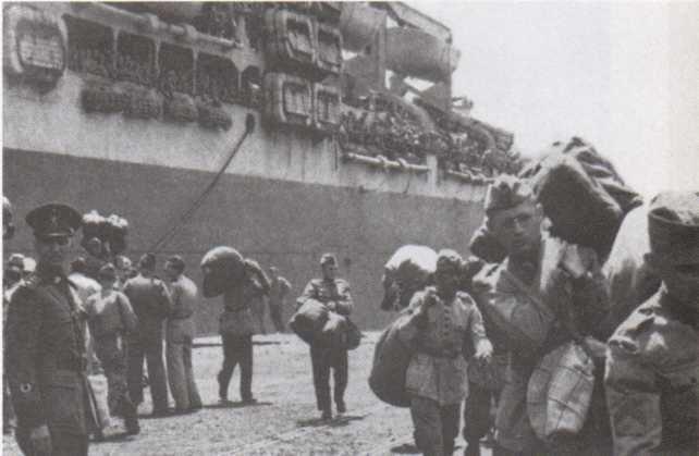 Retorno dos pracinhas brasileiros da Segunda Guerra