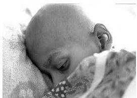 Criança com câncer