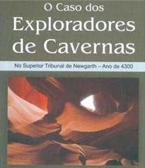 Capa do livro O Caso dos Exploradores de Cavernas