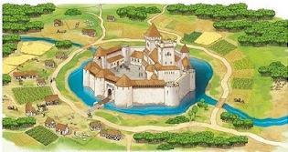 Castelo feudal