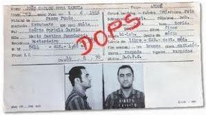 Cidadão fichado pelo SNI durante a ditadura militar