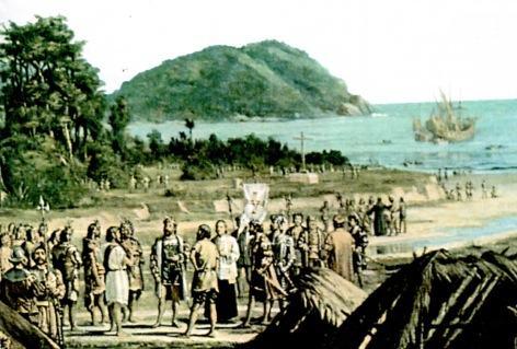Fundação de São Vicente na colonização do Brasil