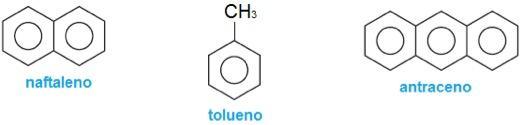 Nome dos derivados do benzeno
