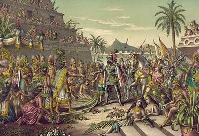 conquista espanhola e a queda do imp233rio asteca cola da web