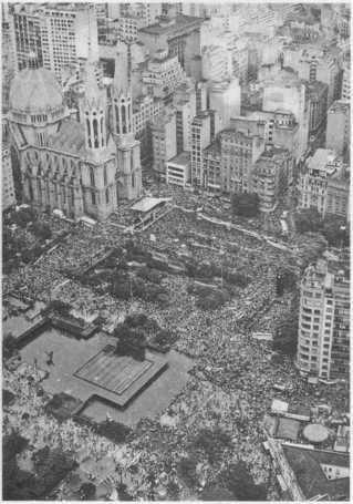 Movimento das Diretas Já em São Paulo