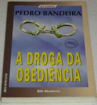 Capa do livro A Droga da Obediência