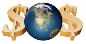 Globalização - dinheiro