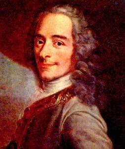 Voltaire: um dos principais filósofos do Iluminismo.