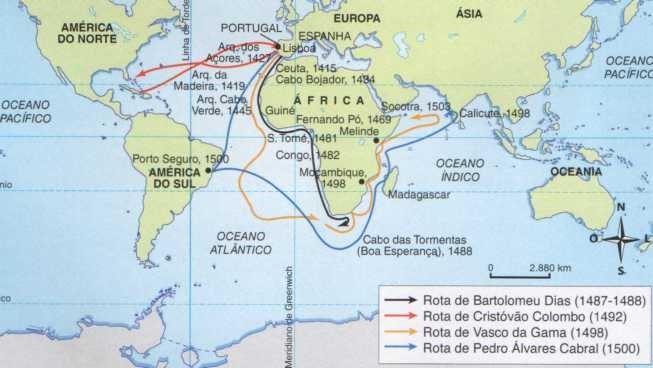 Viagens do Império Colonial Português