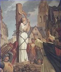 Condenado à fogueira na santa inquisição