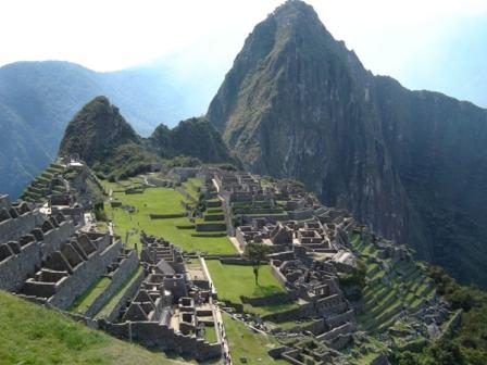 Ruínas de Macchu Picchu.