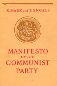 Capa do livro do Manifesto Comunista