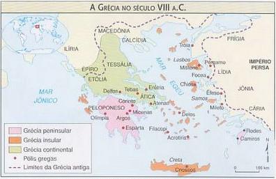 mapa da grecia antiga 2.Matemática na Grécia Antiga.   Eureka!!!!! mapa da grecia antiga