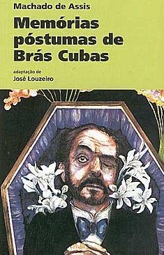 Capa do livro Memórias Póstumas de Brás Cubas.