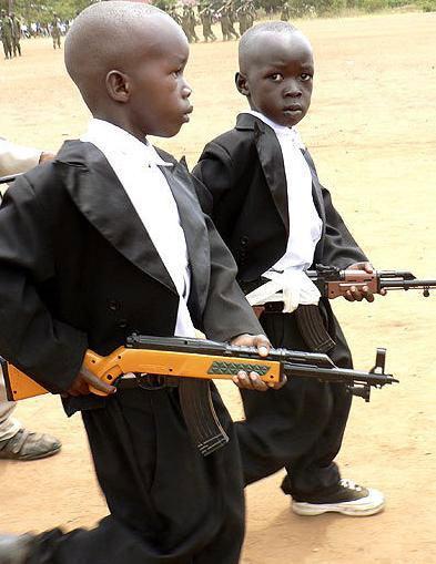 Crianças armadas