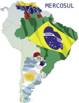 Países que integram o Mercosul