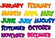 meses-ingles