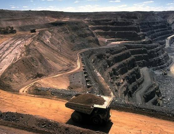 Mineração de ferro