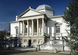 Obra neoclássica chamada Chiswick House