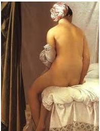 A Banhista - obra neoclássica de Jean-Auguste Dominique Ingres