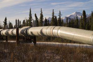 Oleoduto para transporte do petróleo