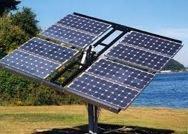Painel de captação de energia solar
