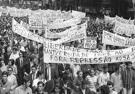 Passeata contra a ditadura