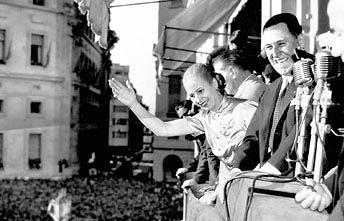 Juan e Eva Perón