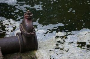 Poluição química da água