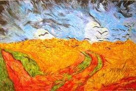 Obra do pós-impressionismo de Vincent Van Gogh
